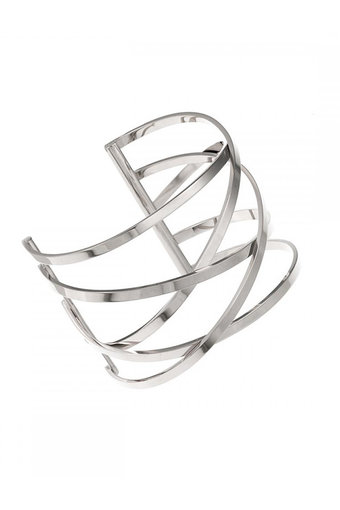 Ingnell Jewellery - Miriam Bangle Steel