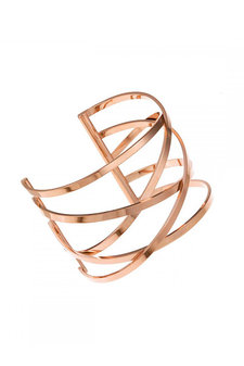 Ingnell Jewellery - Miriam Bangle Rose