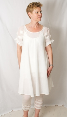 Cream - Izabella Tunic Chalk