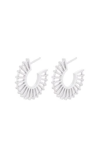 Pernille Corydon - Shadow Earrings Silver