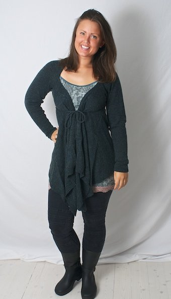 Culture - Faiza Cardigan  Black Melange