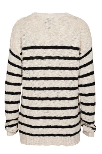 Second Female - Liva Knit Black/White