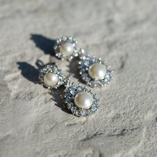 Lily and Rose - Sofia Earrings Pearl Creme
