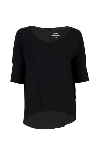 Comfy Copenhagen - Straight from the Heart 3/4 sleeve Black