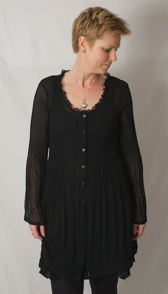 Pulz Jeans - Layla Tunic Black