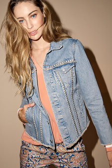 Mos Mosh - Brinson Denim Jacket Light Blue Denim