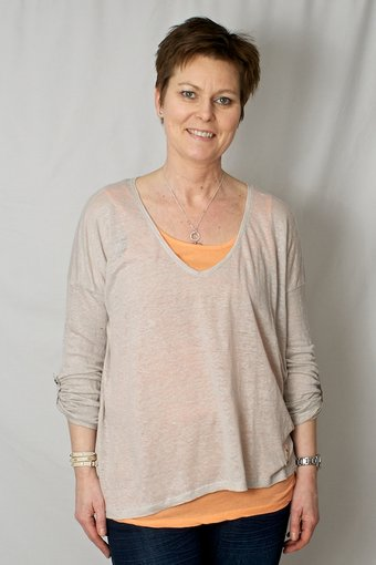 Culture - Limkilde Blouse Kit/Orange