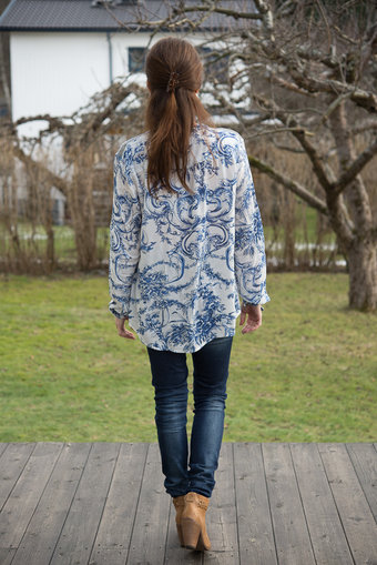 Culture - Devuynice Long Sleeve Shirt Blue Mix