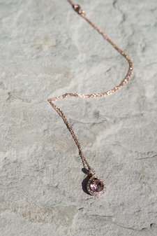 Lily and Rose - Necklace Emmylou Blush Rose