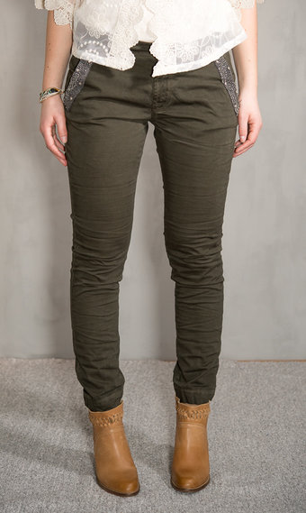 Pieszak - Alberta Soldier Chino Army Green