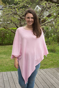 Tif-Tiffy - Alabama Poncho Baby Pink