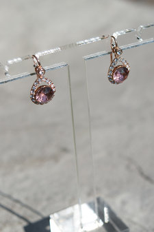 Lily and Rose - Earring Emmylou Blush Rose