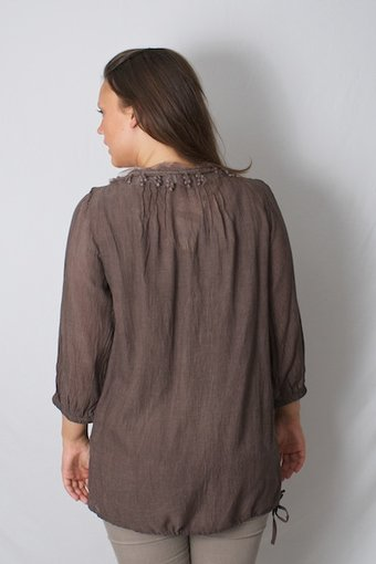 Cream - Sollina Blouse Coffee