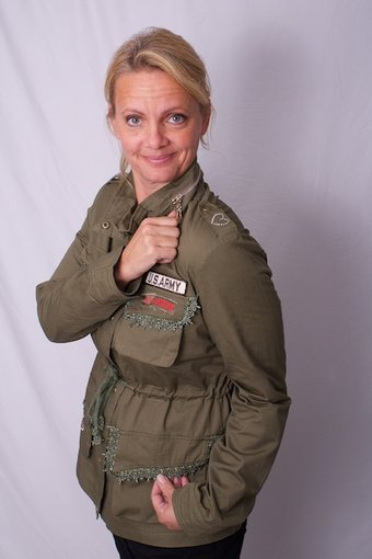 Love Forever - Hillary Jacket Military