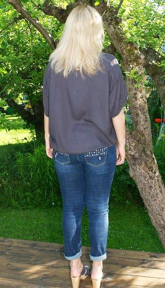 Pulz Jeans - Top Randa Oversize Thunder grey