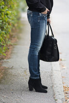 Miss Me - Starburst mid-rise Skinny Jeans