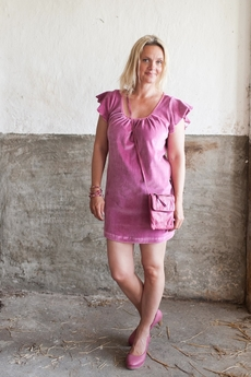 Love Forever - Carina Dress Fandango Pink 50% REA