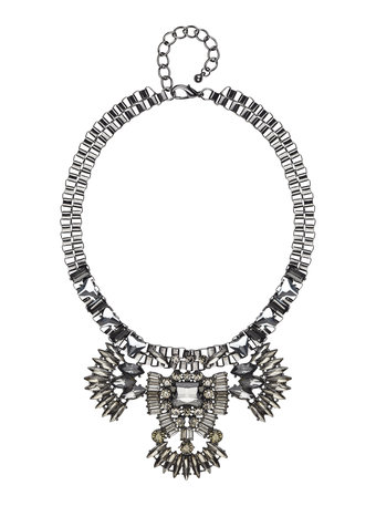 Second Female - Seine Necklace Gun Metal