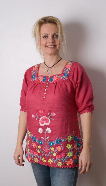 Flamenco - Blus Salma Pink