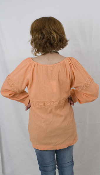 Kaffe - Veronica Blouse Dusty Nectarine