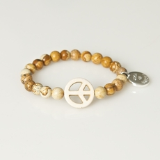 Unica of Sweden - Armband Elsa Beige