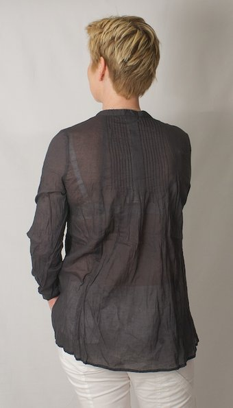 Second Female - Boheme Blouse Deep grey