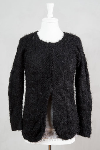 Culture - Madalyn Knit Cardigan Black