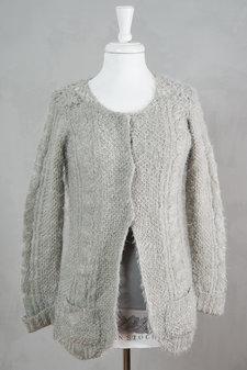 Culture - Madalyn Knit Cardigan Grey melange