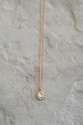 Lily and Rose - Sofia Necklace Silk Rose Gold