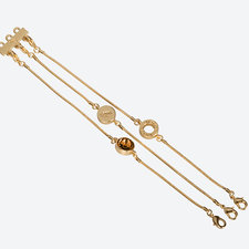 Ioaku -  The Iconic Bracelet 3 in 1 Gold / Conjac