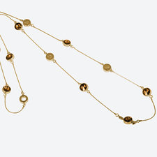 Ioaku -  The Iconic Zen Necklace Gold / Conjac