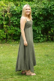 Design Werk of Sweden - Joyce Dress Long Khaki