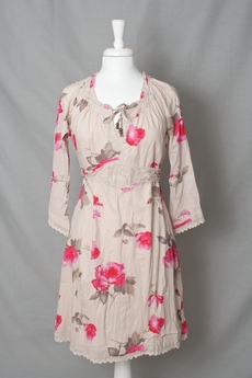 Cream - Sally Dress Bright Pink 50% REA