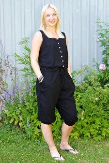 Barfota - Jumpsuit Black