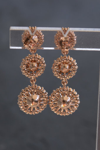 Lily and Rose - Sienna Earrings Blush Rose