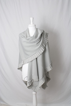 Maya - Sjal Silvia Light Grey