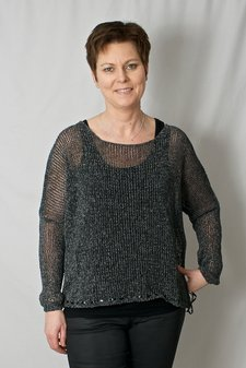 Pulz Jeans - Vila Blouse Oversize Black Solid