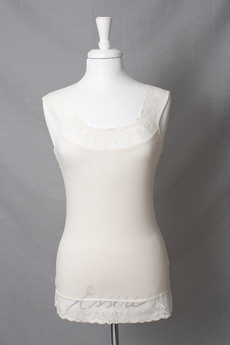 Cream - Florence Top Warm Off White