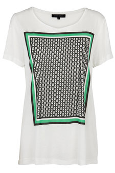 Second Female - Frame Tee Off white