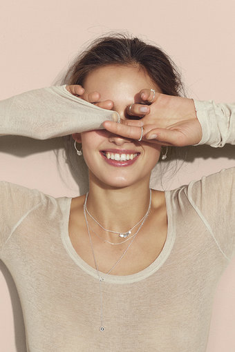 Pernille Corydon - Mini Coin Bracelet Silver