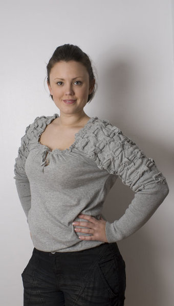 Pulz - Top Tenna Antique Grey Melange