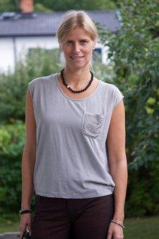 Kaffe - Irene T-shirt Steeple Grey