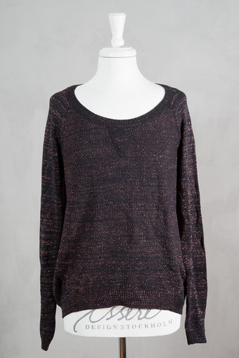 Second Female - Justina Knit Dark Blue