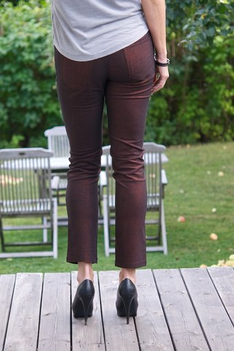 Kaffe - Anna Slim Pant Copper coin