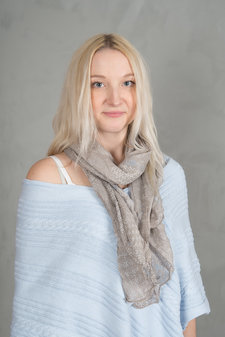 Tif Tiffy - Bellis Scarf Taupe