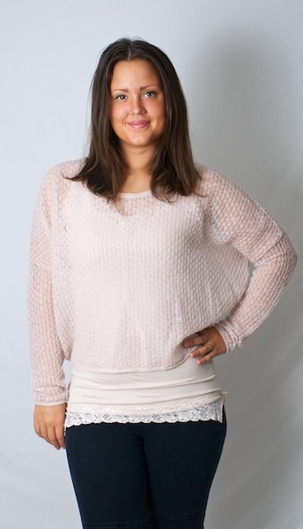 by Ti Mo - Crochet Sweater Rose