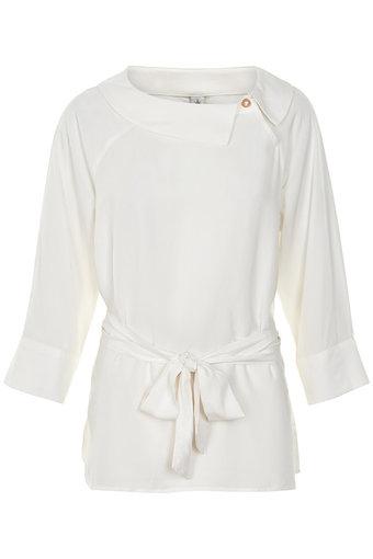 Culture - Tashie Blouse White Solid