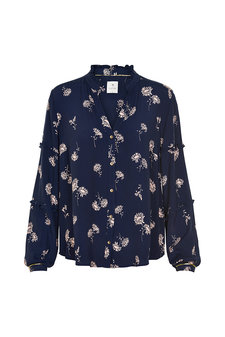 Culture - Maiiba Shirt Maritime Blue