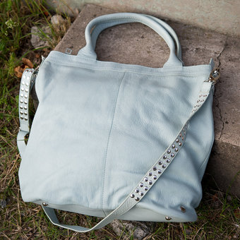 Frontrow - Misha Bag Ice Blue / Silver