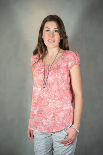 Culture - Lake Blouse Pink Mix